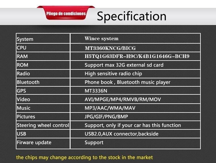 specification ruibaoBLACK