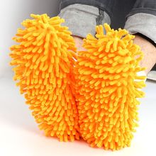 1 pair Quick Lazy Useful Shoe Cover House Cleaner Floor Slipper Cleaning Cloths Dusting Mop Home Clean