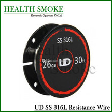 2016 Original Youde UD Stainless Steel 316L Resistance Wire 28ga 26ga 24ga (10m/roll)