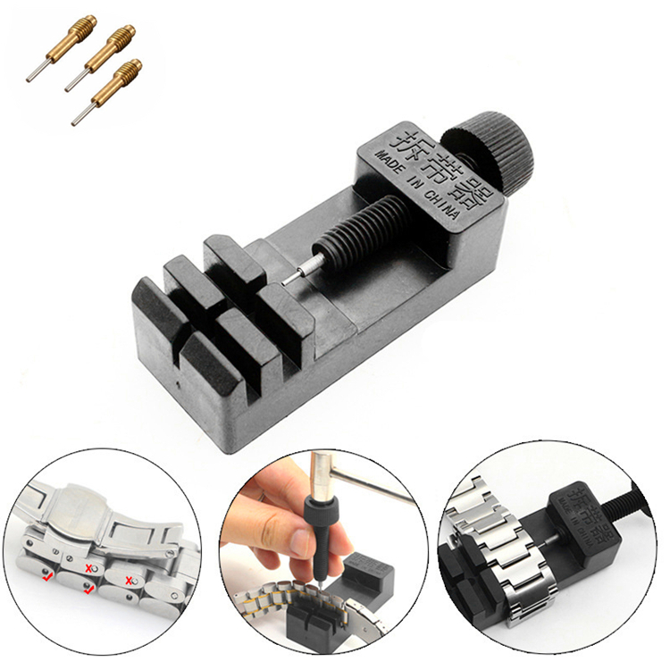 New-Arrvial-Watch-Link-For-Band-Slit-Strap-Bracelet-Chain-Pin-Remover-Adjuster-Repair-Tool-Kit