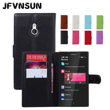 JFVNSUN Case for Microsoft Nokia XL Wallet Case Luxury Card Slot Magnetic Leather Flip Cover for Nokia XL Stand Phone Bag Fundas(China)
