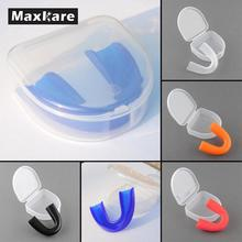 Mouthguard Teeth Protector For Boxing Sports Mouth Guard Protect MMA Adult Football Basketball Hockey Karate Muay Thai Safety(China)