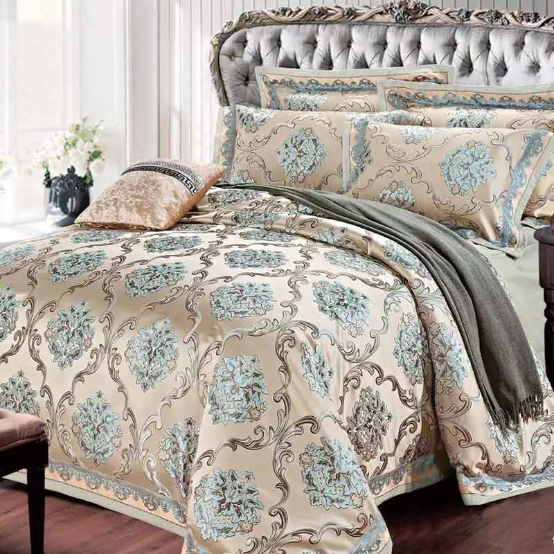 Luxury Bedding Set New Designer Bedding Sets Bed Sheet Jacquard Bedding Sets Duvet Cover(China (Mainland))