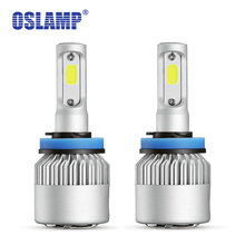 Buy Oslamp Auto Styling H7 LED Headlight Bulb COB 72W 8000LM H3 Led H1 Car Bulbs Led H11 Fog Lamps 9012 9005 9006 All-in-one 6500k for $22.64 in AliExpress store