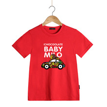 Kids Fashion Summer Baby Milo T Shirt Children Cotton Tee Shirts Cute Cartoon Summer Sotton Short Sleeve T-shirt for Boys Girls