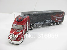 Larger US Truck Super Racing 12 Wheel Front&Rear Light Trailer Container simulation sound Truck toy
