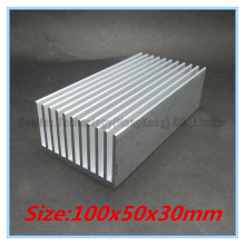 100x50x30mm Aluminum HeatSink Heat Sink radiator for electronic LED COOLER cooling
