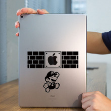 "Fighting Super Mario Tablet PC Laptop Decal Sticker for iPad 1/2/3/4/Air/mini/Pro 7.9"" / 9.7"" / 12.9"" Art Notebook Sticker Skin"