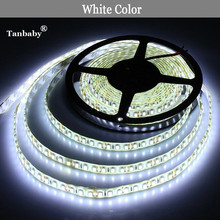 Tanbaby Led Strip Light 2835 waterproof LED Strip IP65 led stripe 12V 120LED/M outdoor lighting tiras led for christmas decora(China)