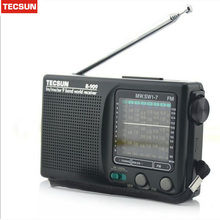 Tecsun R-909  full-time with FM R-909 - year - old semiconductor portable radio FM radio R909 Retail-Wholesale Drop Shipping New