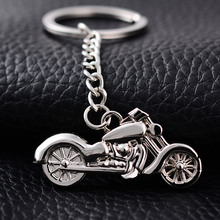 Personality Metal Motorcycle Key Chain Ring Holder Creative Casual Alloy Keychains Porte clef Fashion Novelty Jewelry Gifts J016