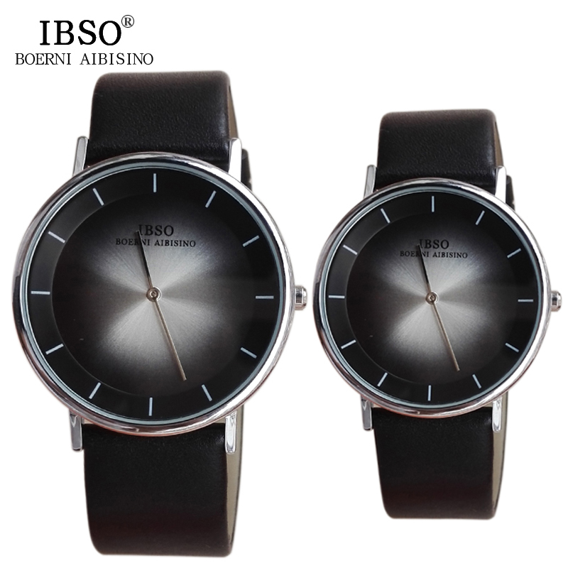 IBSO 2017 Casual Couples Quartz Watches Fashion Shock Resistant Relogio Masculino Date High Quality Hardlex Lovers Wristwatches<br><br>Aliexpress