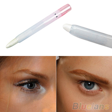 2015 Hot Selling 1 Pc Glitter Pearl White Light Cosmetic Makeup Eyelip Eyeliner Shadow Pencil Pen 8EYS