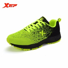 XTEP Brand 2016 Weave Style Men's Sports Running Shoes Sneakers Trail Mens Sports Trainers Light Breathable Shoes 884219609613