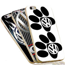 Cool Funny Volkswagen Bus Soft Silicone TPU Cover for iPhone 6 6S 7 Plus 5S 5 SE 5C 4 4S VW Case