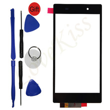 Touch Screen Protector Lens For Sony Xperia Z1 C6903 C6906 C6902 L39h C6943 Digitizer Panel Front Outer Glass Replacement+Tools