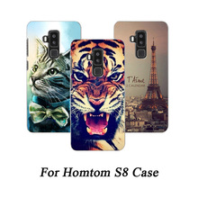 Buy Homtom S8 5.7 Cover Patterned flowers animals Eiffel Towers Protective Phone Cases Homtom S8 back cover for $1.46 in AliExpress store