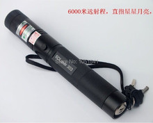 New! 2017 green laser pointer Flashlight 100000mw 100w 532nm high power Burning focusable burn match,pop balloon burn cigarettes(China)