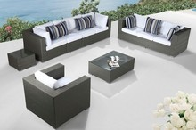 2017 Modern outdoor furniture wicker sectional deeping seat(China)