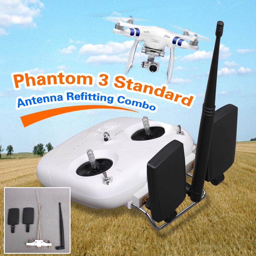 DJI Phantom 3 Standard RC Quadcopter Ultra Long Extended Range Modification Kit Booster Refitting Antenna Set<br><br>Aliexpress