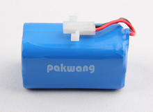 Original A380 Robot Vacuum Cleaner Battery, 2200 MAH Lithium Ion Battery 1 pc