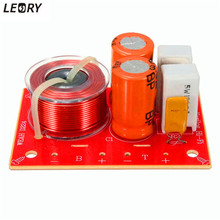 LEORY 80W 2 Way Hi-Fi Audio Speaker Frequency Divider Stereo Crossover Filters 71x52mm