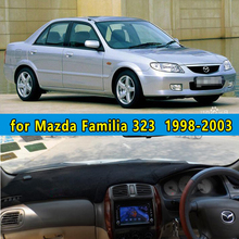 car dashmats car-styling accessories dashboard cover for  Mazda Familia 323 1998 1999 2000 2001 2002 2003  rhd