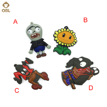 Hallowmas Gifts Plants vs. Zombies USB Flash Drives 128GB 64GB 32GB 16GB 8GB 4GB Halloween Pendrive Pen Drive USN Memory Stick(China)