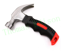25mm stubby Mini claw hammer nail hammer safety car emergency escape tool(China)