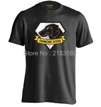 Diamond Dogs of War The Metal Gear Solid Snake 5 V Phantom Pain Mens & Womens Cool T Shirt Design T Shirt(China)