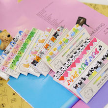 cute kawaii diy memo pad sticky Notepaper Post-it note cartoon animal heart dog frog cat penguin sticker office school supplies(China)
