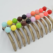TIANHOO 10pcs/Lot 12.5cm Metal Purse Frame Handle for Clutch Handbag DIY Making Kiss Clasp Lock Bronze Candy Color Tone Bag Part(China)