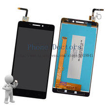 5.0'' Full LCD DIsplay + Touch Screen Digitizer Assembly For Lenovo Vibe P1m P1ma40 P1mc50 TD-LTE ; Black ; New ; 100% Tested