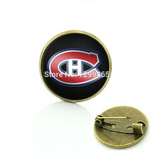 Classic Collection Montreal Canadiens Hockey brooch sport team logo charms jewelry hockey fans team gift cheap pin jewelry C490