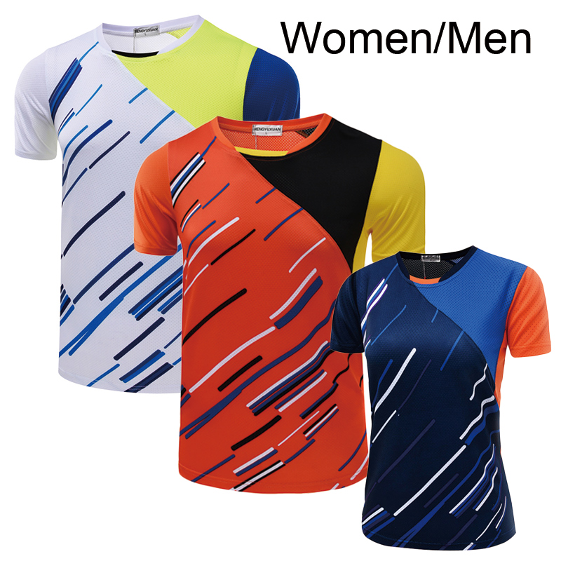 New Tennis shirt Men / Women , Table tennis shirt , Tennis shirt female/male , sports t-shirt Tennis shirt 5050AB(China (Mainland))