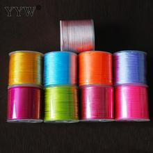 20 Colors Jewelry Accessories Cord DIY Making for Bracelet Necklace 30m Colored Nylon Cord Thread 2mm Jewelry Making DIY(China)