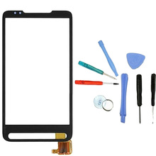 LINGWUZHE Free Tool + Black Handwrite Panel Digitizer Touch Screen Digitizer Glass Touch Panel For HTC HD2 T8585
