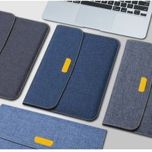"Axbety Fashion Jeans Style Case For iPad 2017 Case Soft Slim Fabric Sleeve Cover For iPad Pro 2 3 9.7"" Full Protection Felt Bag(China)"