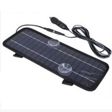 High conversion rate 4.5W solar car car battery charger battery core can be 12V battery conversion 5V(China)