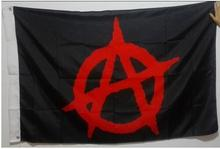 ANARCHY ANONYMOUS Black Mason Freedom Flag hot sell goods 3X5FT 150X90CM Banner brass metal holes