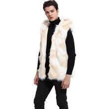 Großhandel mens faux fur vest Gallery Billig kaufen mens