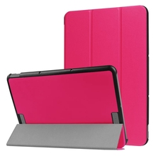 30pcs Ultra Slim Flip PU Leather Back Cover Case for ASUS Transformer BOOK T101HA 10.1 inch Tablet + Stylus Pen