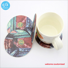 Custom Printed Paper Coaster Disposable Coasters 20PCS/lot  Free Shipping 2017 New Fashion Table Mat