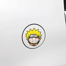 Car-styling Cartoon Naruto Car Fuel Cap Sticker Decal Toyota Peugeot 206 307 Ford Focus Renault Bmw Audi Q3 Q5 Vw Skoda - Goodtopsale Group Holding Ltd store