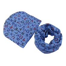 Baby Girls Boys Cap Toddler Beanies Hats Skull Caps Scarf O Ring Neckerchief Scarves CY1