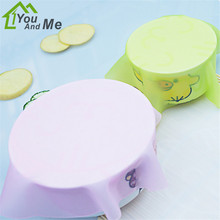 1x Silicone Mat Lid Bowl Reusable Cover Food Seal Container Refrigerator Preservative Film Cook Kitchen 20*20cm