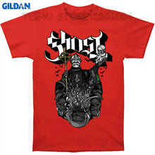 Gildan Tee4U Cheap Sale 100% Cotton T Shirts Ghost B.C Papa Holding Up Creepy Baby Within Nameless Ghouls Flying Bats