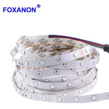 5M Upgrade More Brighter Than Old 3528 Chip RGB Flexible LED Strip light 300 LEDs/Pack Max String lighting Decoration lamp Tape(China)