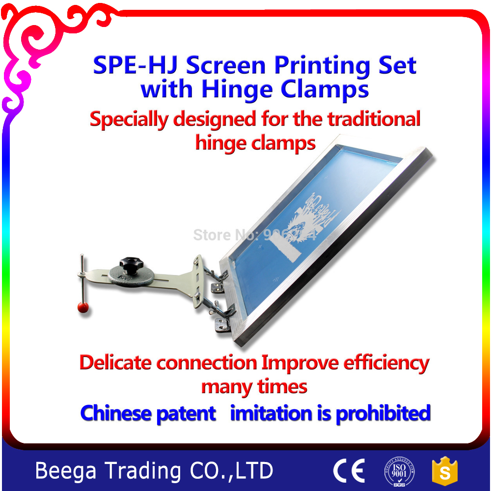 Screen Printing with Hinge Clamp Set Printing T-shirt Directly by Hinge Clamp<br><br>Aliexpress