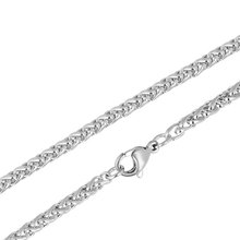 20pcs/lot  Stainless Steel Jewelry Necklace Chains Lobster Wholesale Made in china 7g/pcs 40cm 45cm